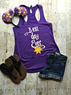 Rapunzel outfit for summer