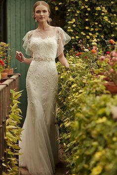 Bettina Gown // Meet Me in the Garden: BHLDN's Spring 2015 Collection