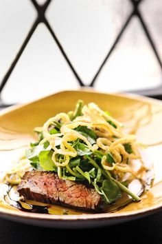 "Skirt Steak ""Fiorentina"" at Basso"