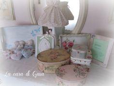 La casa di Gaia: Shabby, French style e Country...un pò di lavori per il mercatino