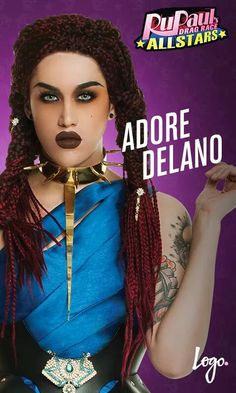 RuPaul's Drag Race All Stars Adore Delano