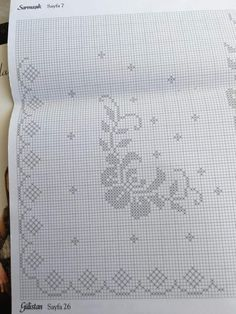 Embroidery Stitches, Hand Embroidery, Filet Crochet, Needlework, Cross Stitch, Bullet Journal, Farmhouse Rugs, Knitted Cushions, Cross Stitch Embroidery
