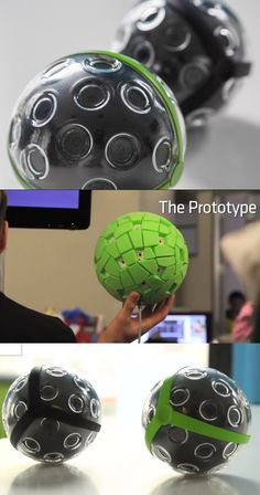 With this camera, you can take TRUE panoramas that capture 360 degrees of action at once.
