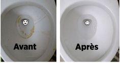 Voici comment avoir des toilettes luisantes sans effort !