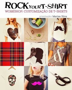 Lusty Capuccino: Workshop: Rock your T-shirt