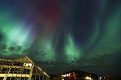 Nordic skies | Langit di Lingkar Arktik - Yahoo News Indonesia