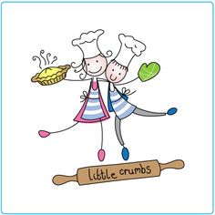 Little Crumbs – logo design – graphic design – Designed by Tree