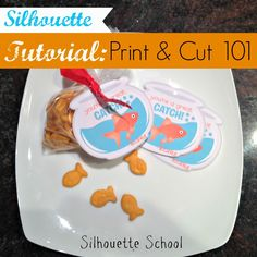 Silhouette Print and Cut Tutorial for Beginners ~ Silhouette School