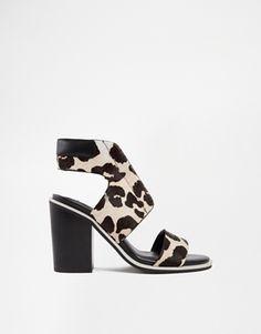 Senso Riley Leopard Pony Heeled Sandals #springshoes #sandals