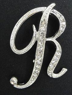 Wholesale Rhinestone Crystal English Letters Wedding Bridal Bouquet Brooch Pin | eBay