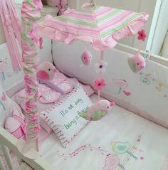 Bebek odası uyku  seti ve dönence