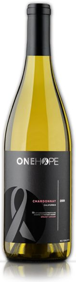 One Hope Wine - 50% of profits are donated to make a social impact. One Hope has donated over $1 Million to nonprofits. Available at Whole Foods.