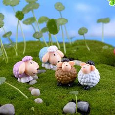 Promotion Cut Animal Doll Hand To Do Kids Toys Anime Figure Figurine Moss Micro Landscape Decoration Animation Toy