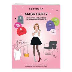 Mask party - Kit de survie spécial soirée de Sephora sur Sephora.fr