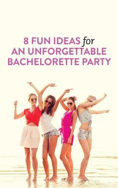 8 Super Fun Ideas For A Bachelorette Party You'll Never Forget Bachlorette Party, Bachelorette Weekend, Bachelorette Parties, Wedding Tips, Wedding Hacks, Dream Wedding, Wedding Decor, Team Bride, Bridesmaid Duties