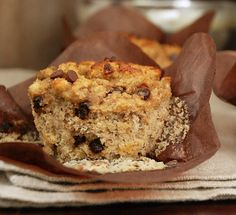 Coconut Banana Chocolate Chip Muffins  @Multiply Delicious
