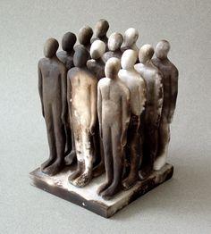 Glenys Barton: Still Life 2,001  cerámica  14cm x 9.5cm x 9.5cm cm  Edición del 8