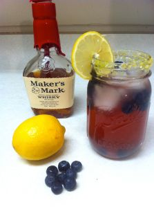 BlueBerry Bourbon Cocktail