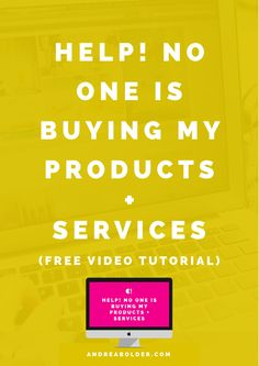 Now One Is Buying My Product + Services! How To Sell More Products. from Andrea Bolder Find A Business Name, Business Tips, Online Business, Business Entrepreneur, Make Money Blogging, Make Money Online, How To Make Money, Blogging Ideas, Branding