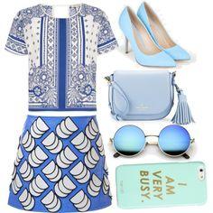 Blues Outfit Idea 2017