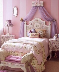 Pretty little girls room