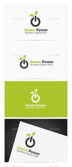 Buy Green Power Logo by himoo on GraphicRiver. Green Power Logo Re sizable Vector EPS and Ai PSD Color customizable Fully editable Free font used: http:/. Green Business, Business Logo, Logo Design Template, Logo Templates, Clover Logo, Green Logo, Cool Logo, Logo Design Inspiration, Nature Logos