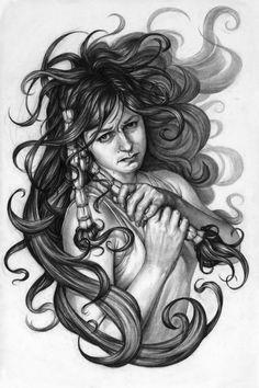 ArtStation - Medusa's Daughter, Walter O'Neal