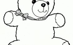 Latest Free Printable Teddy Bear Coloring Pages Gallery