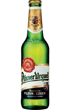 Pilsner Urquel; great Czech beer...