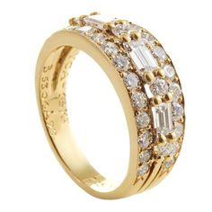Van Cleef & Arpels Diamonds Gold Band Ring