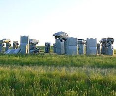 "Carhenge- Stonehenge replica in Alliance, #Nebraska    Plus 9 more ""wonders"" of the Midwest"