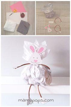 DIY: Embalaje de Pascua para chocolates / Embalagem de Páscoa para chocolates / Easter