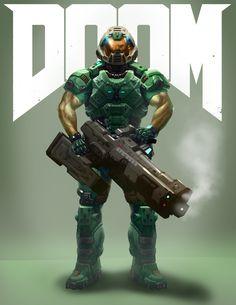 Doom Guy 2016