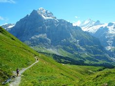 Grindelwald Hikes – Hiking in the Lauterbrunnen/Berner Oberland Area Hiking, Mountains, Nature, Travel, Traveling, Walks, Viajes, Trekking, Nature Illustration