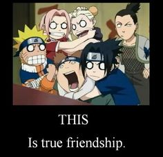 This is true friendship.