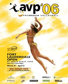 2006 avp beach volleyball