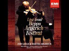 FRANCK Violin Sonata | I.Gitlis, M.Argerich | live 1998 - YouTube