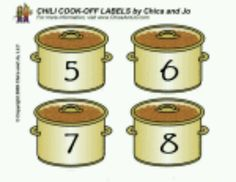Chili Labels 5-8
