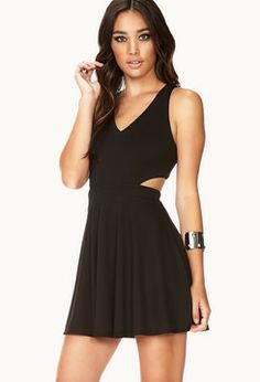 FOREVER 21 Cool-Girl Cutout Dress