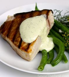 1000 ideas about swordfish steak on pinterest grilled - Steak d espadon grille sauce combava ...