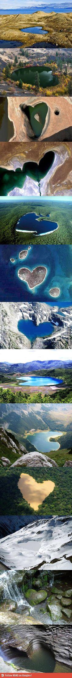 Nature's Hearts