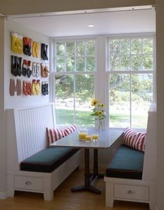 kitchen nooks and booths for home   My Beautiful Banquette