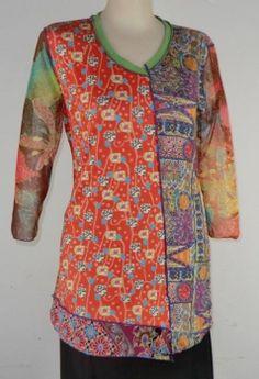 Anya SF art-to-wear tee, Jen Maxi (S) The Garden