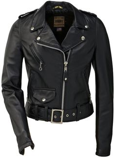 Perfecto 218W leather womens biker jacket by Schott