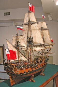 Модели парусных кораблей 3