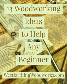 13 Woodworking Ideas to Help any Beginner. These are a great way to get you buil… 13 Woodworking Ideas to Help any Beginner. These are a great way to get you building better projects, faster. Happy building, and enjoy the… Continue Reading → Woodworking For Kids, Woodworking Patterns, Easy Woodworking Projects, Woodworking Classes, Woodworking Techniques, Popular Woodworking, Woodworking Furniture, Diy Wood Projects, Teds Woodworking