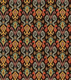 Home Decor Fabric Textile Pattern Design, Ikat Pattern, Pattern Art, Fabric Patterns, Fabric Design, Black Background Pattern, Flower Phone Wallpaper, Ikat Print, Textile Prints