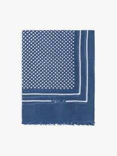 foulard nicky bleu à pois | agnès b. Rugs, Inspiration, Home Decor, Headscarves, Blue, Accessories, Farmhouse Rugs, Biblical Inspiration, Decoration Home