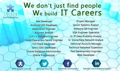 We don't just find people, We help them build their IT Careers.  Visit our website http://sysgen.com.ph/it-job-openings-philippines/ for the complete list and job details.