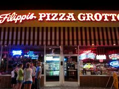 Filippis Pizza Grotto--Little Italy, SD
